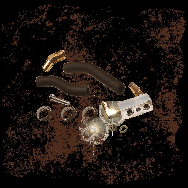 S&S Adapter kit for the BAKER +1 Oil Pan